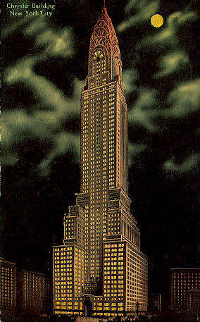 The Chrysler Building, 1929