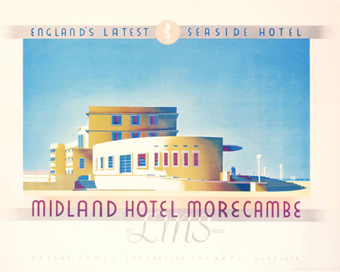 The Midland Hotel - LMS advertising. Image: � NRM / Science and Society Picture Library