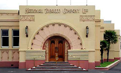 National Tobacco Company/Rothman's Building, Napier. Image:
