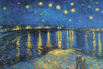 Starry Night over the Rhône by Vincent van Gogh, 1888. Image: Time Life Pictures/Getty Images