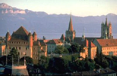 Lausanne cathedral. Image: epfl.ch