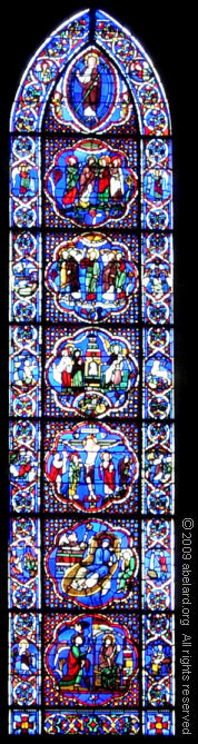 Panel showing the history of the Redemption, twelfth century