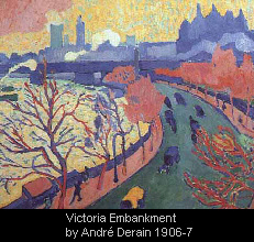 Victoria Embankment by Andr� Derain 1906-7