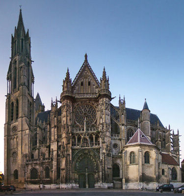 South facade of Senlis cathedral