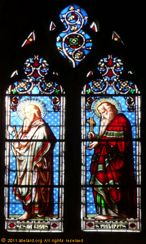 Saint Mathias and Saint Philip