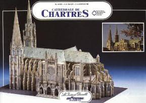 Chartres cathedral 3-D puzzle