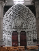 medieval East porch at Dax cathedral