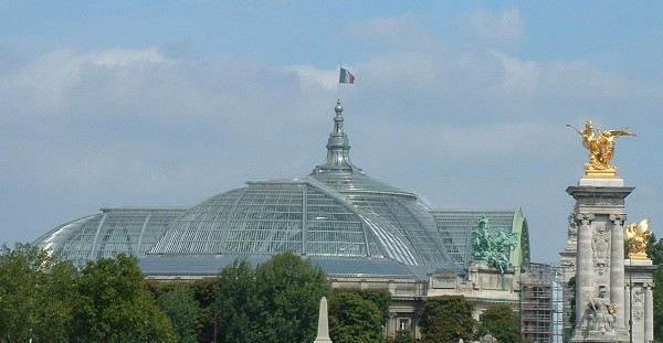 The renovated Grand Palais, Paris. Image credit: www.structurae.de; photographer: Jacques Mossot.