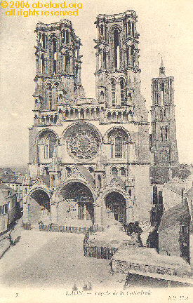 West facade of Laon cathedral