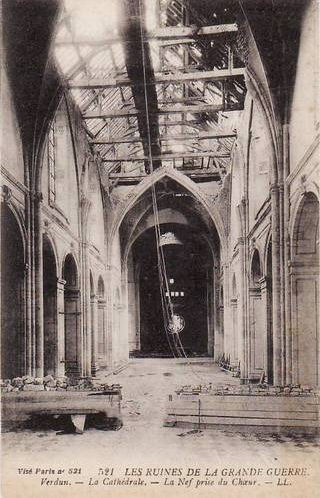 The ruins of the Great War - Verdun cathedral