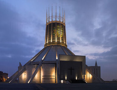 Liverpool Metropolitan Cathedral. Image: Chowells