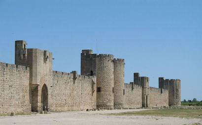 Aigues- Mortes. Image credit: Marc Ryckaert via wiki commons