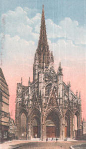 Saint Maclou Church, Rouen
