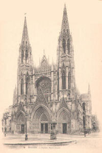 Saint Ouen Church, Rouen
