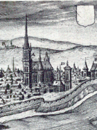 Senlis cathedral in th 16th century