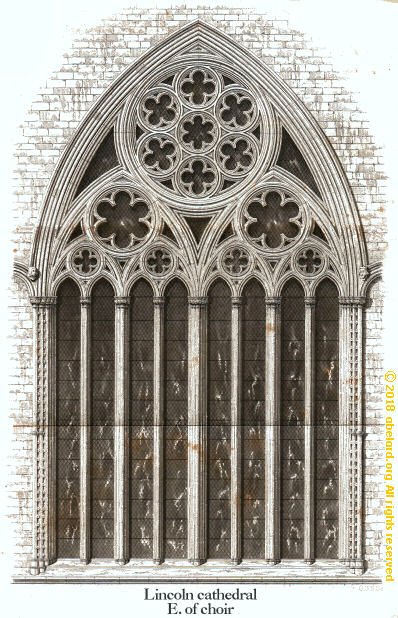 Eight-lancet (light) window, Lincoln cathedral