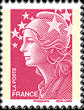 Marianne et Europe, issued from 1 July 2008, designed by Yves Beaujard.
