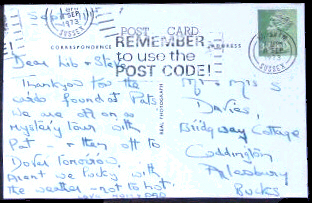 dating english postcards Deltiology (from greek there are some general rules to dating when a postcard was printed postcards are generally sent within a few years of their printing so.