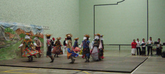 Basque dancing at Hasparren.