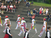 Festival dancers at Souraide.