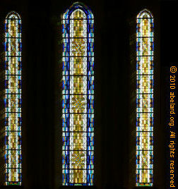 Stained glass in the church at Saint-Georges d�Oleron