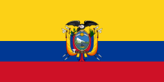 National flag of Ecuador