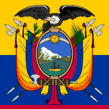 Flag of Ecuador, centre portion