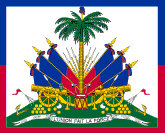 Flag of Haiti, centre portion