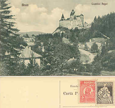 Castle Bran, Romania - alleged home of Dracula and Vladimir the Impaler.