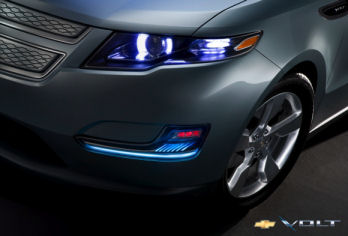 Updated front section of the GM Volt car. Image: gm-volt.com