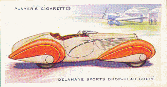 1936 Delahaye Sports Drop-head Coupé