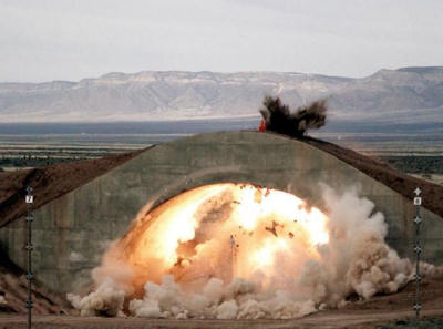 A bunker-busting explosion. Source: digitaltrends.com