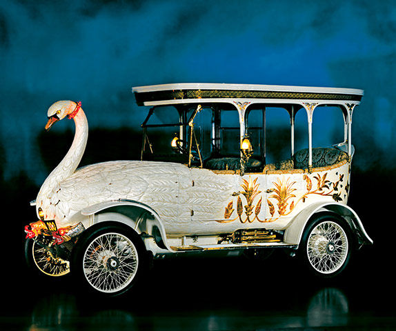 Swan car by JW Brooke and Company, 1910