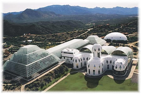 Biosphere2 in New Mexico