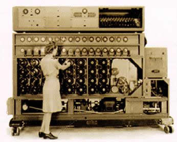 Bombe machine used in decrypting Enigma messages.