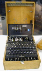 German enigma machine.