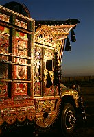 Decorated truck in Pakistan. Credit: Peter Grant Photography