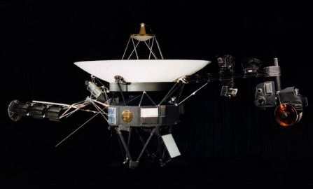 Voyager spacecraft. redit: NASA/JPL.