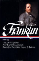 Franklin: Writings by Benjamin Franklin, with  J. A. Lemay, editor