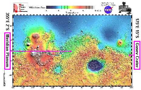 image credit: Mars Orbiter Laser Altimeter (MOLA) Science Investigation