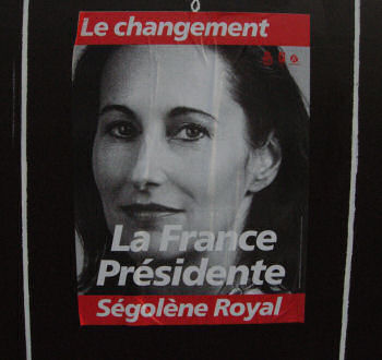 Segelene Royal, the film star - main socialist candidate