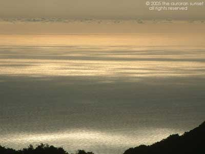 Sea view from Yakushima Island, Japan. Image credit: the auroran sunset